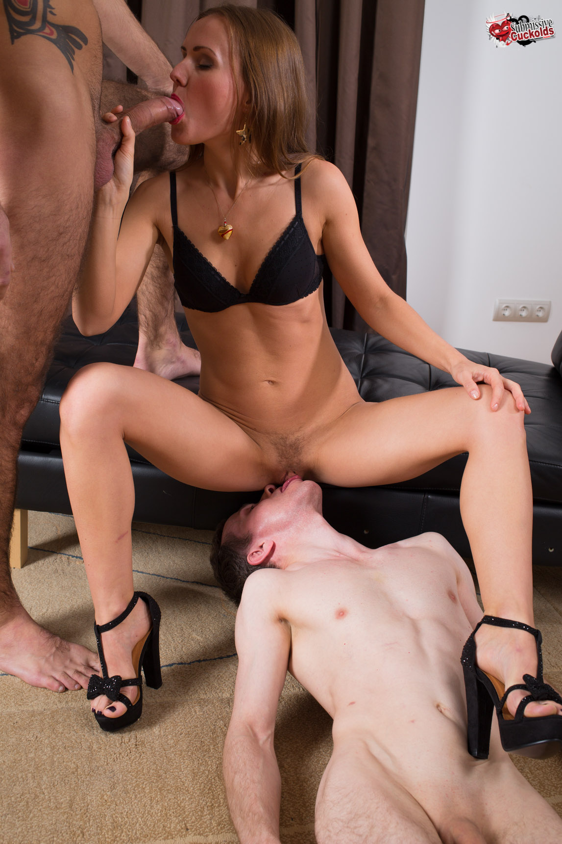 Wife giving her hubby a bj 5